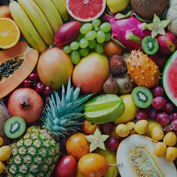 Naturbelassene Produkte - Obst vielfalt