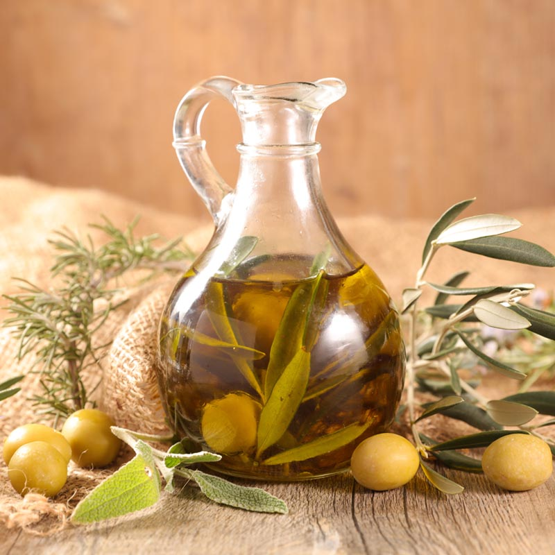 Naturbelassene Produkte - Öl