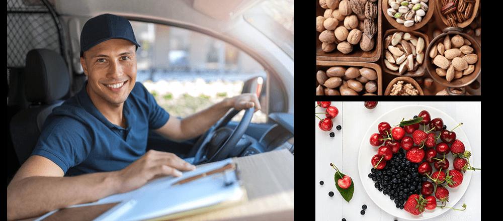 Naturbelassene Produkte - Collage